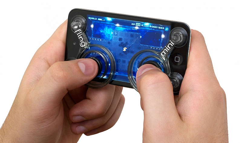 FLING MINI ANALOG JOYSTICK SMARTPHONES GAME HANDS ROBOKILL MOBILE CELL PHONE ACCESSORIES