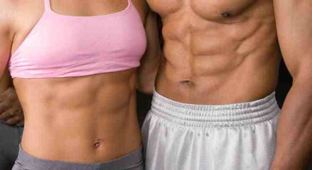 fitness six pack male and female