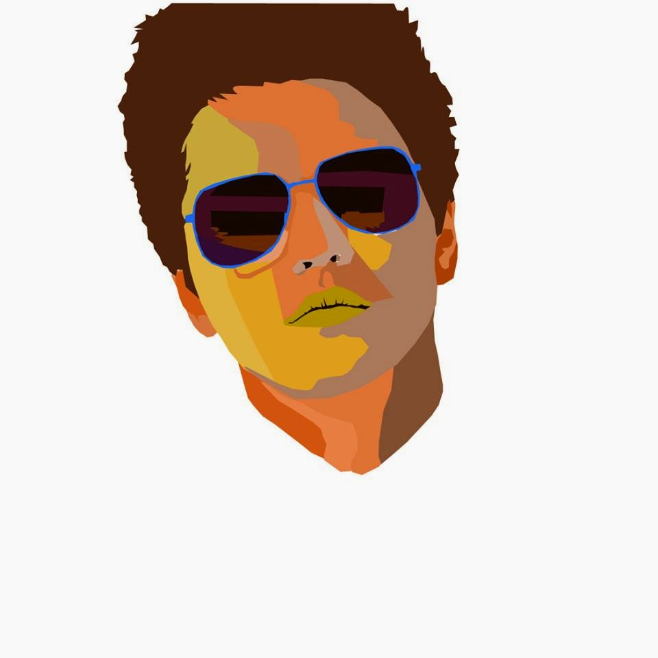 Pop art Bruno Mars