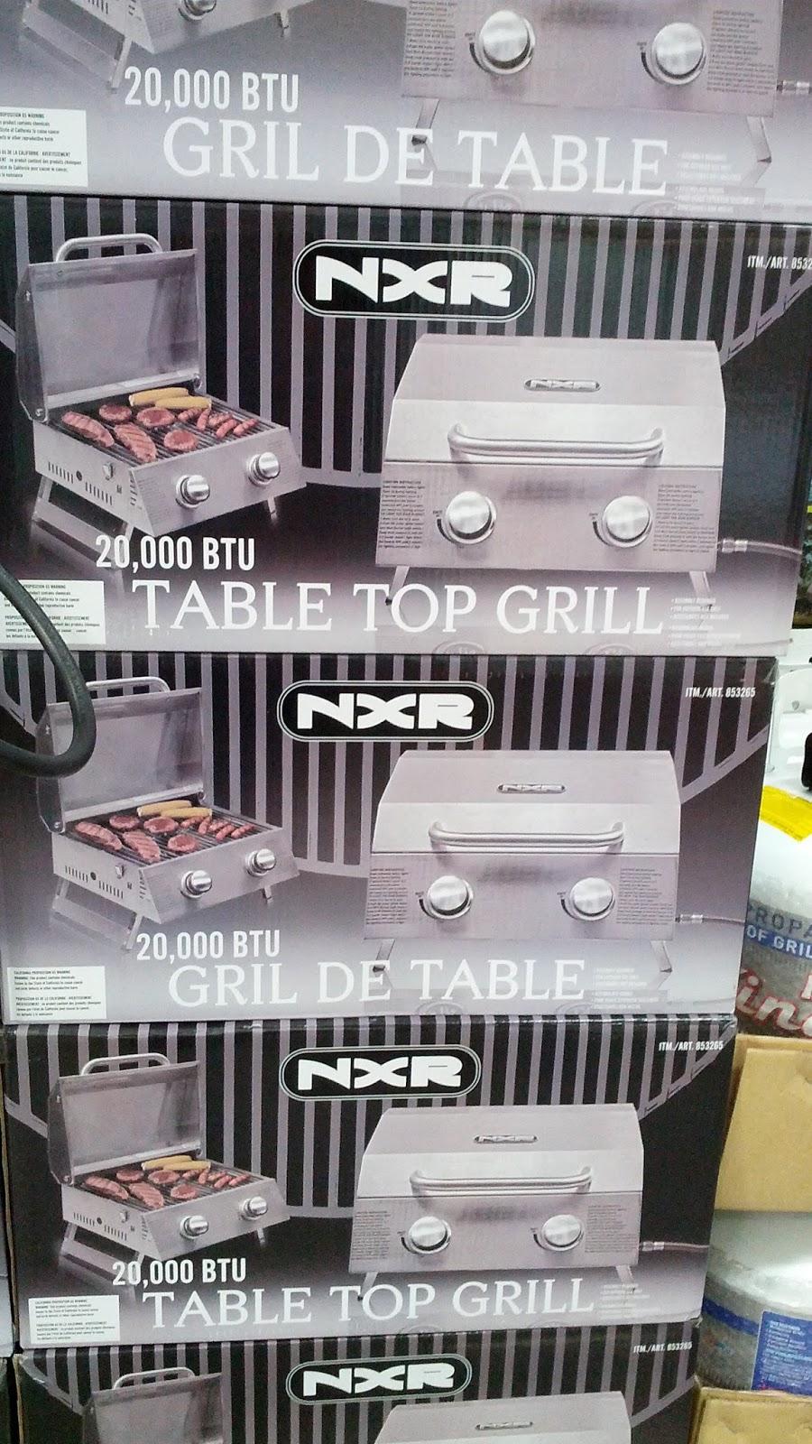 Costco Portable Bbq : Duro nxr table top gas bbq grill costco weekender