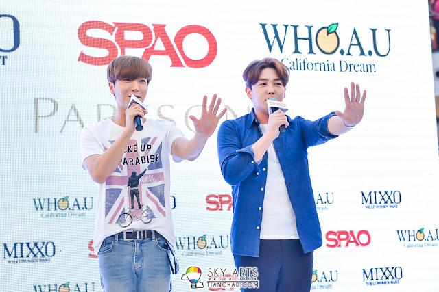 Super Junior and SPAO Junior!