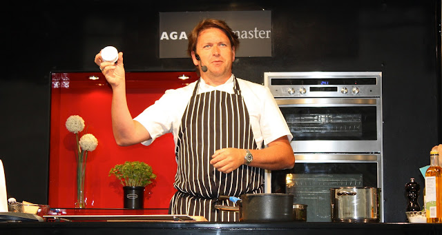 Chef James Martin at Bolton Food and Drink Festival 2012