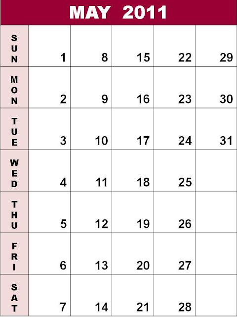 april may calendar 2011. Blank+calendar+2011+may