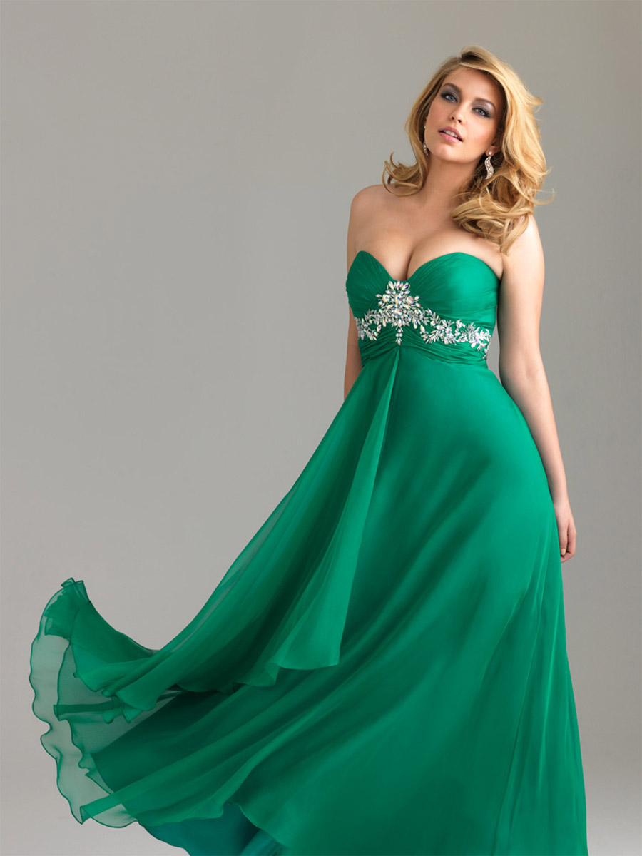 New Cheap Plus Size Prom Dresses Gowns 2012