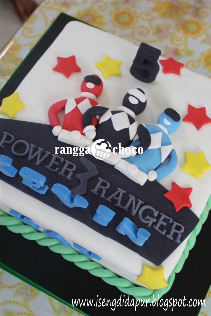 Ranggachoco Power Ranger Birthday Cake For Kevin
