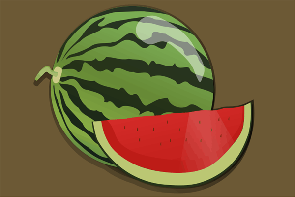 Um pouco de matemática e melancia