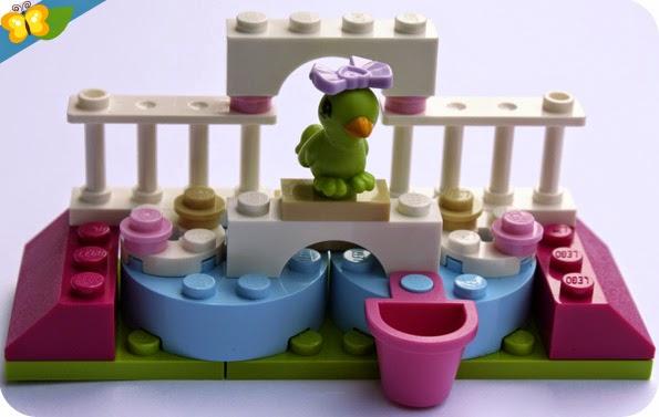 LEGO® Friends Animaux - Série 3 - Le perroquet et son perchoir