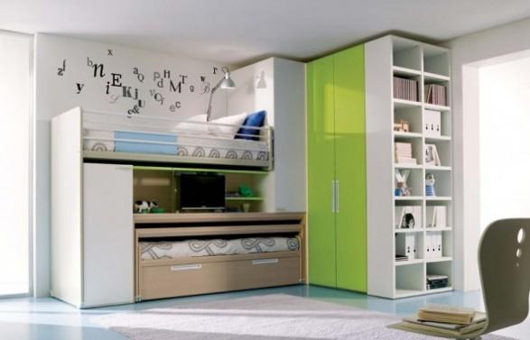 preciosas habitaciones para niñas con area de estudio | decorar tu