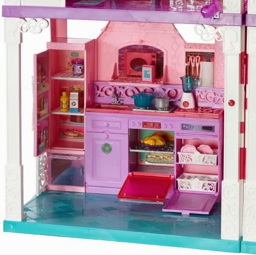 IDEE REGALO...VEDERLI E\' VOLERLI: La nuova casa dei sogni di Barbie ...