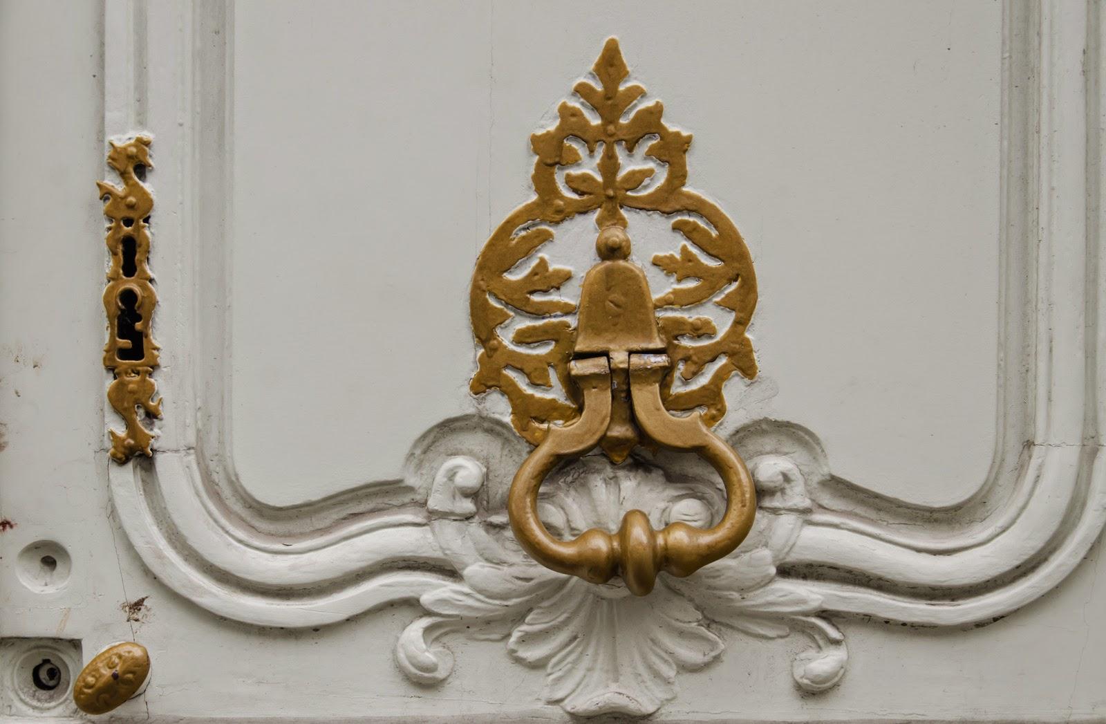 Louviers - porte - heurtoir