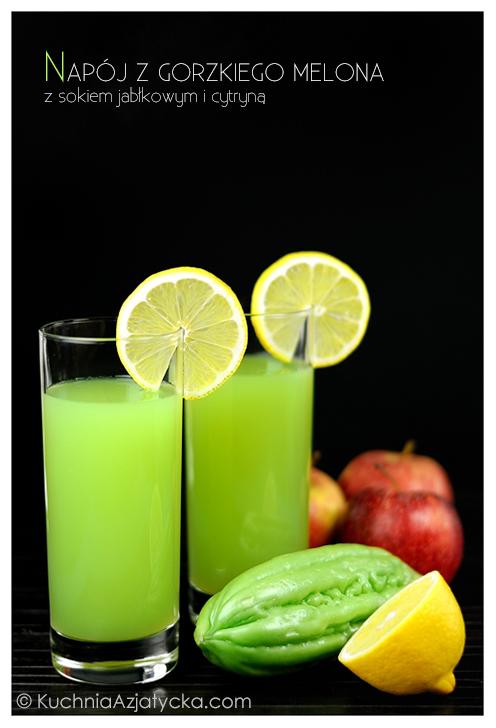 Napój z gorzkiego melona © KuchniaAzjatycka.com