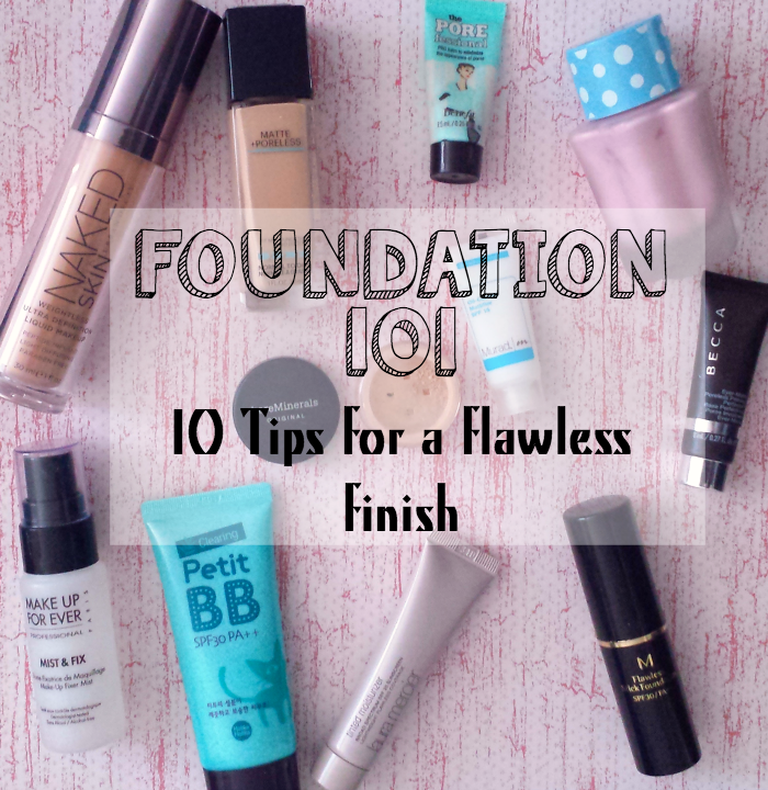 flawless foundation tips, how to wear foundation, how to avoid cakey foundation, how to apply foundation