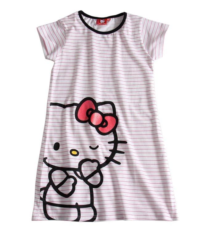 H kitty shop hello kitty chemise de nuit ou big t shirt liquette - Table de nuit hello kitty ...