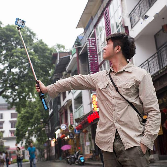 Selfie Guna Monopod Boleh Dipenjarakan Di Korea Selatan