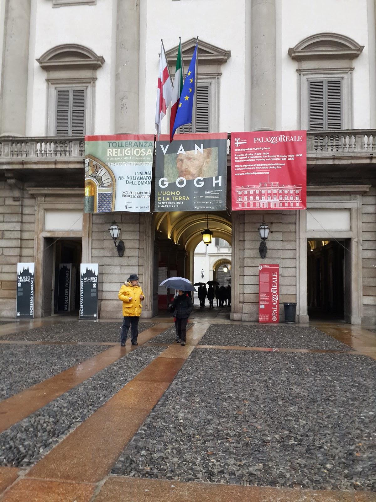 Van Gogh Милана собор Duomo билеты картины