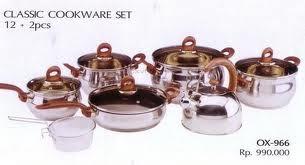 Oxone Classic Cookware Set 12+ 2 pcs ox-966
