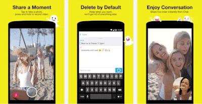 Snapchat, Aplikasi Media Sosial dan Chatting dengan Keamanan Privasi Terbaik