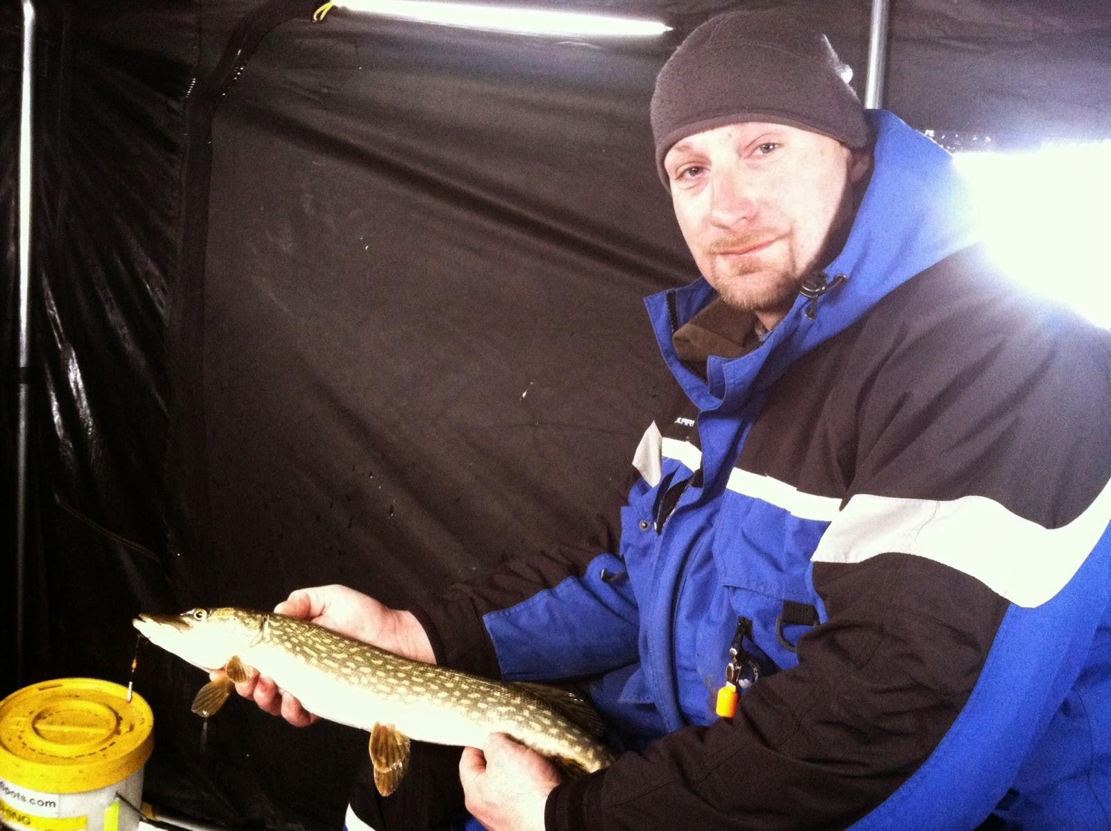 Houghton lake walleye report houghton lake 1 31 15 for Enid lake fishing report