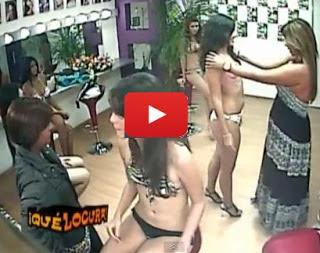 بالفيديو: كاميرا خفية في غرفة خلع ملابس عارضات الازياء