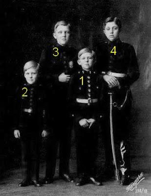 hijos varones de Alfonso XIII y de Victoria Eugenia, reyes de España