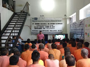 Consolidan programas de reinserción en penales  con la XIV Semana del Interno Alcohólico