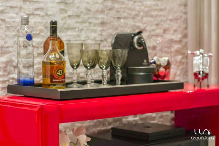 Aparador Bar Vermelho ~ Decoraç u00e3o detalhes vermelhos! Jeito de Casa Blog de Decoraç u00e3o e Arquitetura