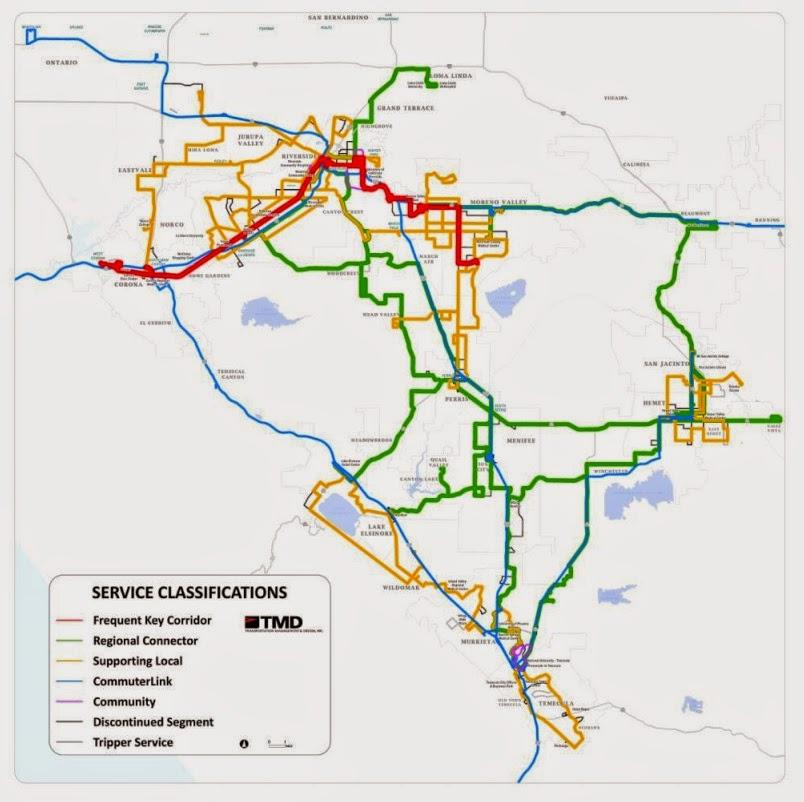 A Long Range Bus Transit Plan for Riverside County
