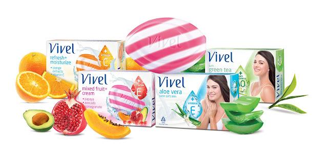 Vivel Soaps With Skin Nourishing Ingredients