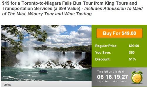 Wagjag deals niagara falls