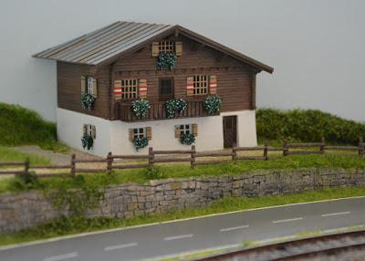 Das alte Bauernhaus - Entstanden aus einem umgebauten und ergänztem Kibribausatz