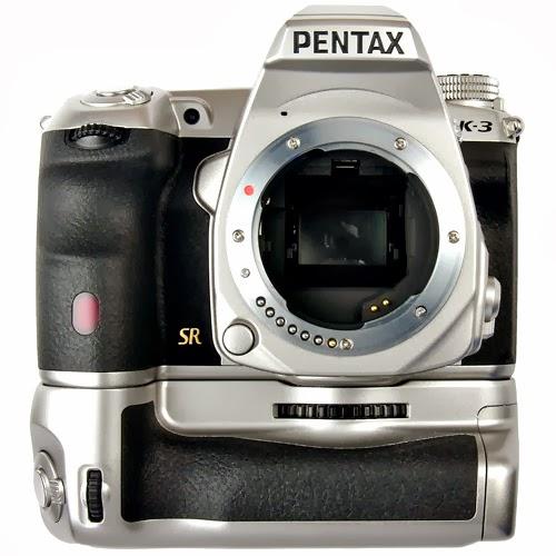 Pentax K-3 con battery grip