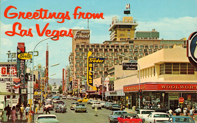 Vintage Photos Of Las Vegas In The 1950s And 1960s