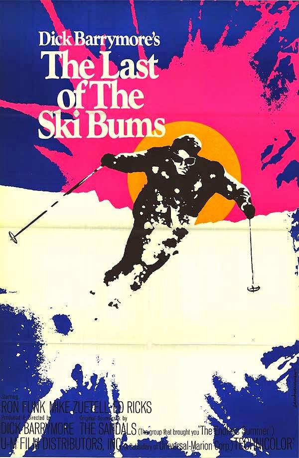 Art Inspiration 28 Great Vintage Ski Movie Posters