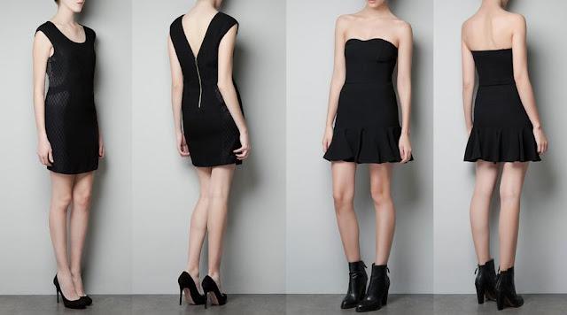 vestidos cortos de noche zara