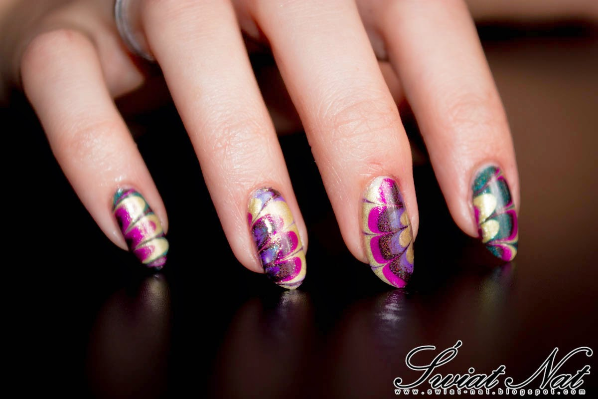 mani manicure nails nailart holo colour alike