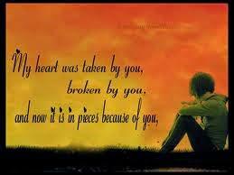 My Heart Was Taken By You Broken