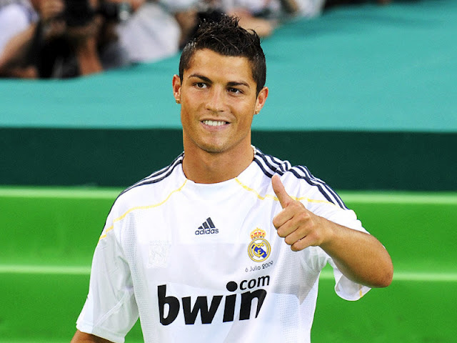 Cristiano Ronaldo Real Madrid Wallpaper 2012