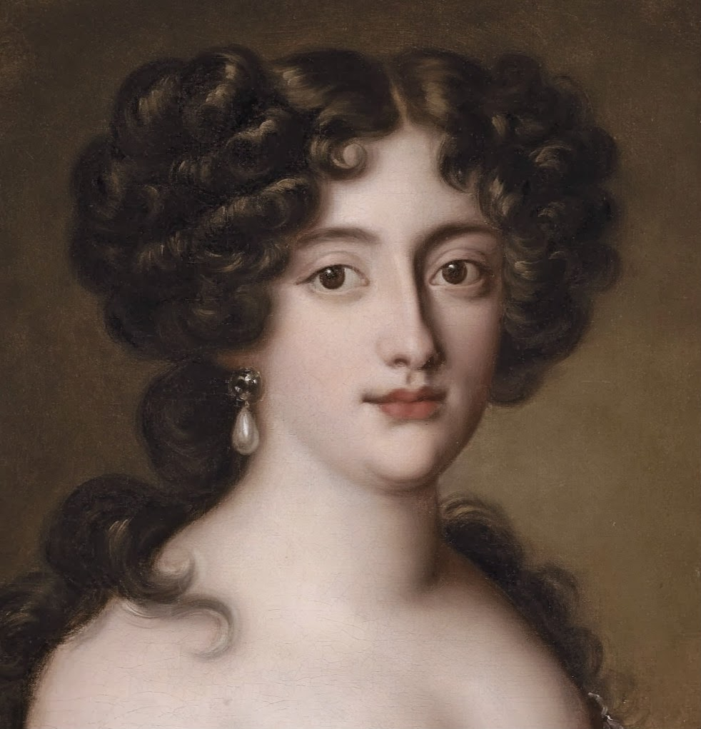 madame isis toilette a beautiful visage 17th century female beauty detail from a portrait of hortense mancini duchesse mazarin as aphrodite by jacob ferdinand voet ca 1675