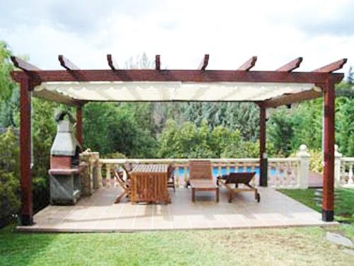Garden center ejea paisajismo jard n de estancia i v - Decoracion de pergolas ...