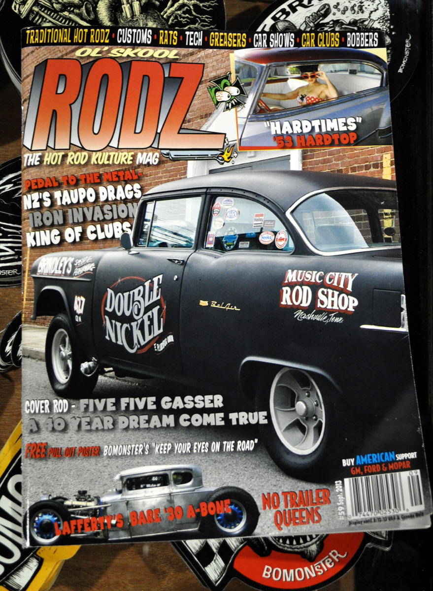 Just A Car Guy: Old Skool Rodz magazine Sept 2013 issue has a ...