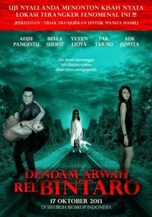 Film Dendam Arwah Rel Bintaro 2013 di Bioskop