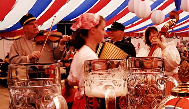 Φεστιβάλ Μπύρας στην Πράγα - Τσεχία.
