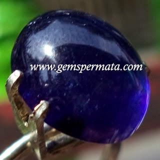 Batu Permata Natural Blue Sapphire, Batu Safir Asli