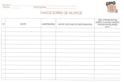 formulario plano de aula