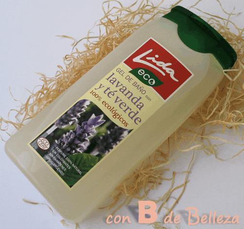 Gel corporal lavanda y té verde