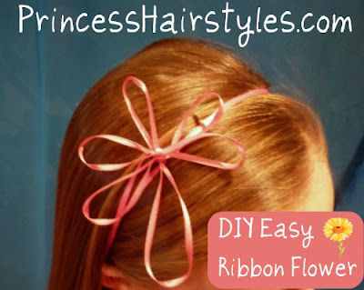ribbon flower headband