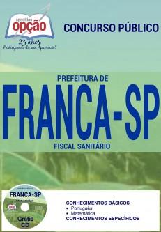 Apostila Concurso Prefeitura de Franca - SP - Fiscal Sanitário - 2016