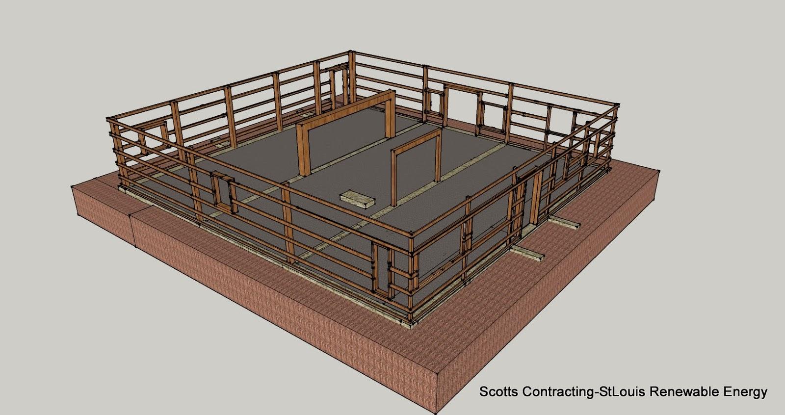 Comparing Post Frame Residential Building Designs to Stick Built Frame Building