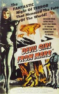 Retro Sci-Fi Weekend:  'Devil Girl From Mars' border=