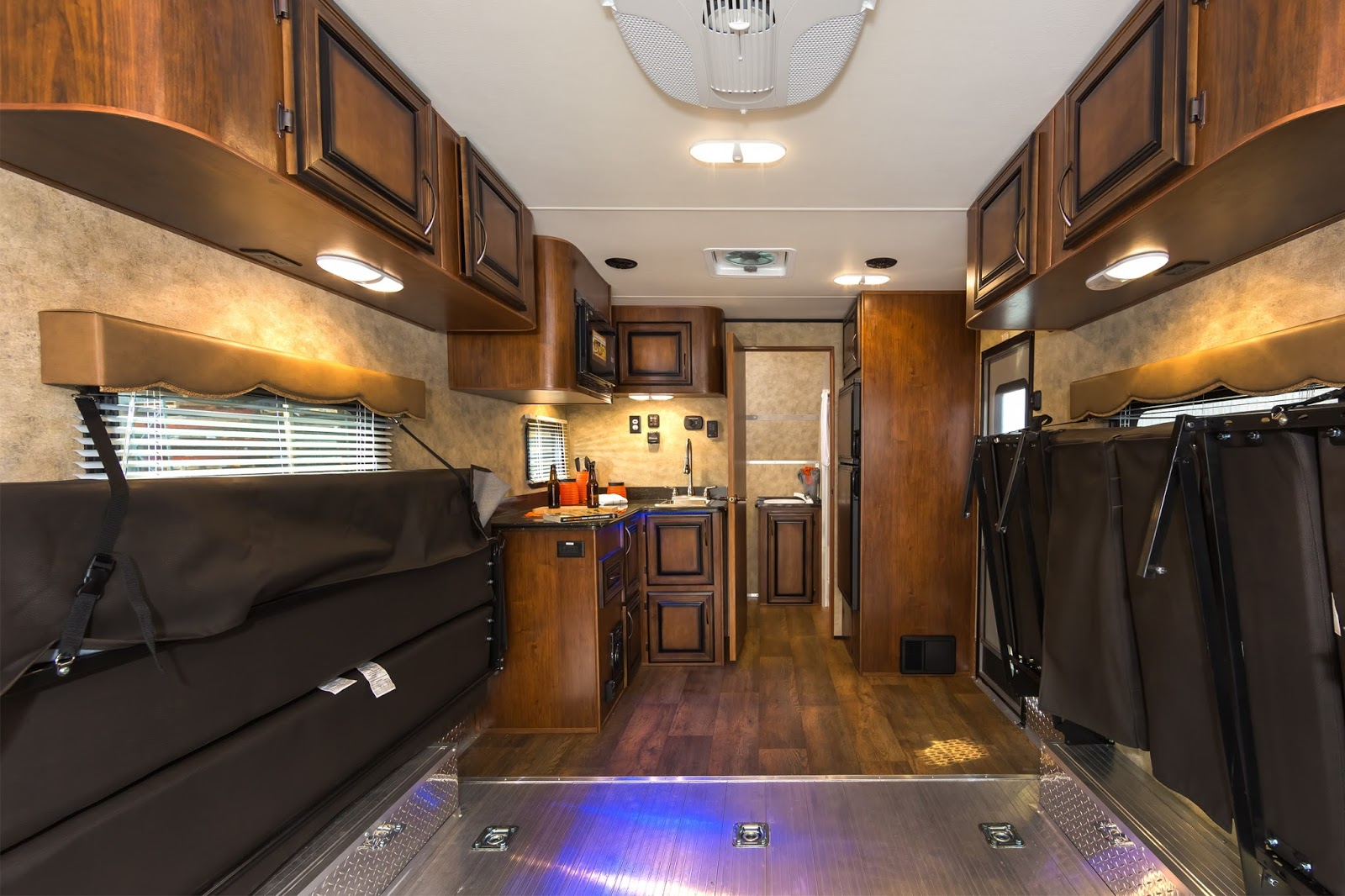 The all new IGNITE toy hauler by LIVIN LITE RV Trader
